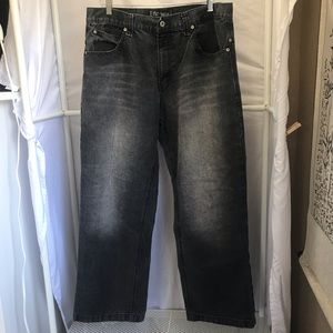 South Pole Relaxed fit Straight Leg Jeans Sz 36